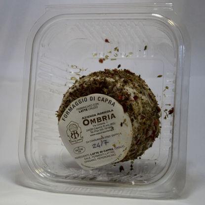Caprino fresco - peperoncino e origano